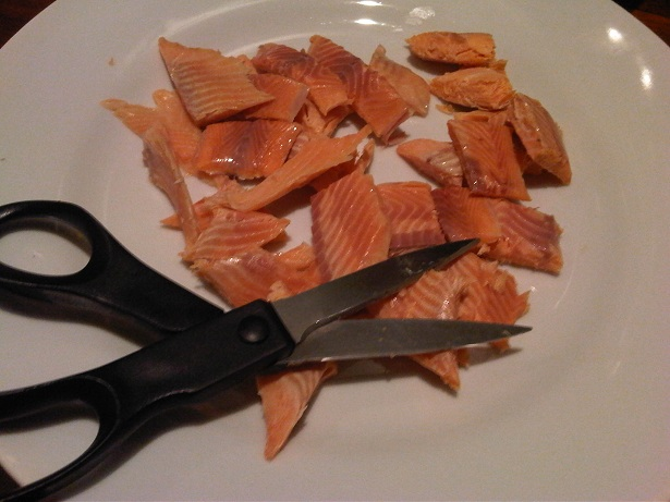 tip to cut the trout