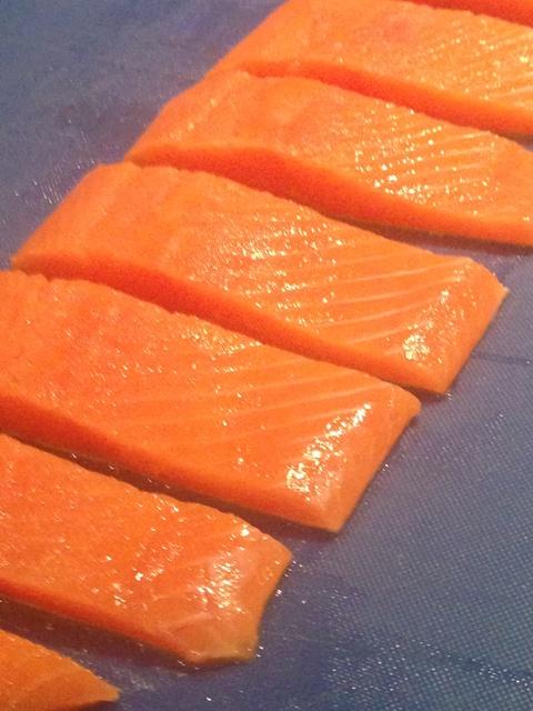 delicious British trout