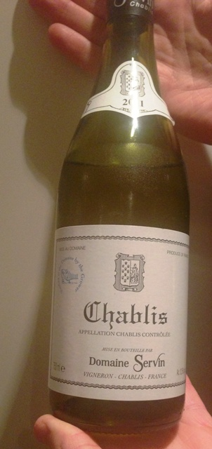 carefully selected Chablis