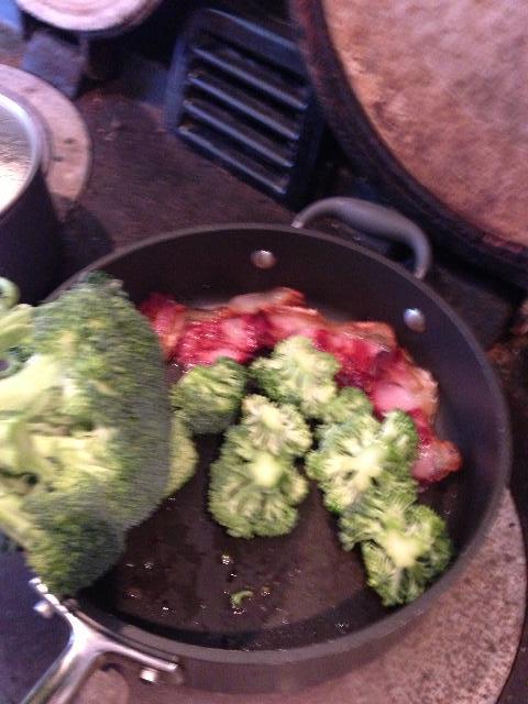 sear your broccoli