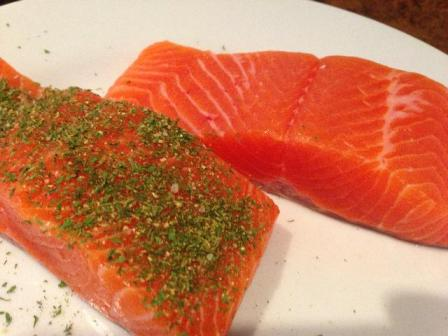 fresh trout d-cut fillets